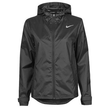 Kleidung Damen Windjacken Nike W NK ESSENTIAL JACKET Schwarz