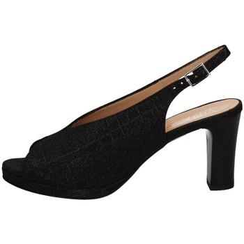 Schuhe Damen Sandalen / Sandaletten Soffice Sogno E20082 BLACK