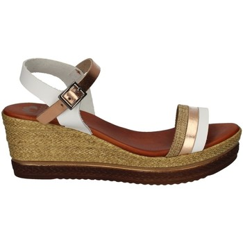 Schuhe Damen Sandalen / Sandaletten Porronet FI2556 WEISS