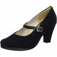Schuhe Damen Pumps Andrea Conti Trachtenpumps schwarz