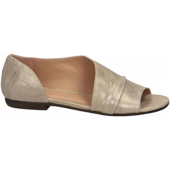 Schuhe Damen Sandalen / Sandaletten Salvador Ribes METAL PARKER stone