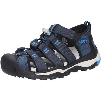 Schuhe Jungen Sportliche Sandalen Keen Newport neo blau