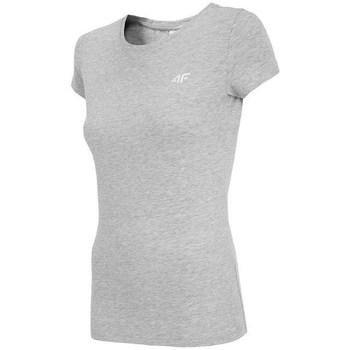 Kleidung Damen T-Shirts 4F TSD001 Grau