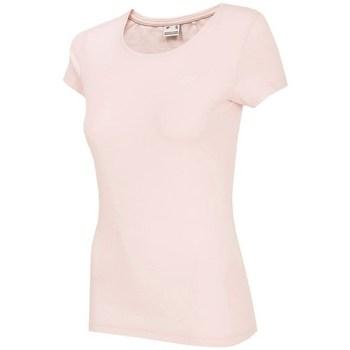 Kleidung Damen T-Shirts 4F TSD001 Rosa