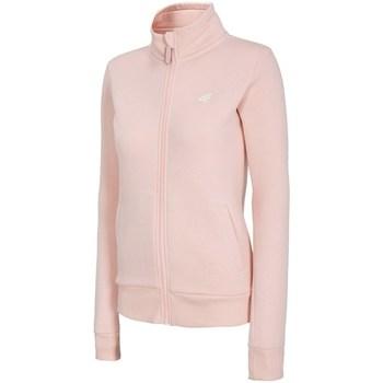 Kleidung Damen Sweatshirts 4F BLD003 Rosa