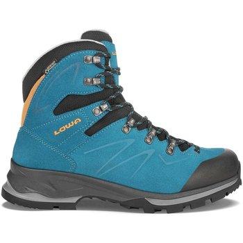 Schuhe Damen Wanderschuhe Lowa Sportschuhe BADIA GTX WS 220612 6915 blau