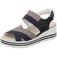 Schuhe Damen Sandalen / Sandaletten Waldläufer Sandaletten 728005-191-217 blau