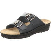 Schuhe Damen Pantoletten / Clogs Rohde Pantoletten 1431/56 blau