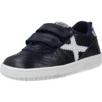 Schuhe Jungen Sneaker Low Munich BABY GRESCA Blau