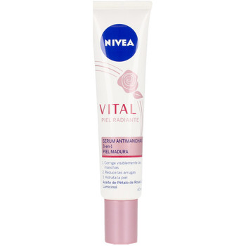 Beauty Damen pflegende Körperlotion Nivea Vital Radiante Serum Antimanchas 3en1  40 ml