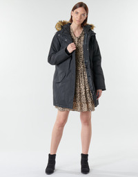 Kleidung Damen Parkas Billabong COLDER WEATHER Schwarz
