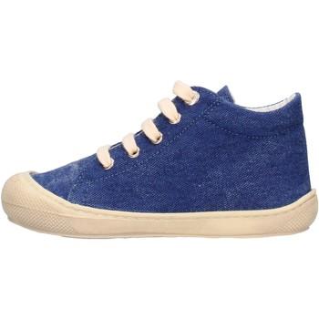 Schuhe Jungen Sneaker Naturino - Polacchino jeans COCOON-0C06 BLU
