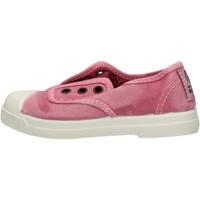 Schuhe Jungen Sneaker Natural World - Scarpa elast rosa 470E-603 ROSA