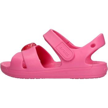 Schuhe Jungen Wassersportschuhe Crocs - Classic cross fuxia 206245-669 FUXIA