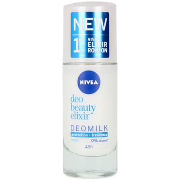 Beauty Damen Deodorant Nivea Milk Beauty Elixir Deo Roll-on  40 ml