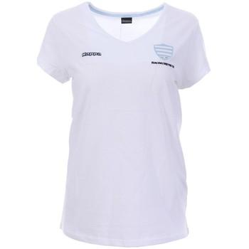 Kleidung Damen T-Shirts Kappa 3018BZ0 Weiss