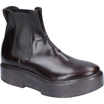 Schuhe Damen Low Boots Moma BM507 braun