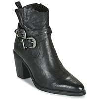 Schuhe Damen Low Boots Regard ELVIS V1 BUBBLE NOIR Schwarz