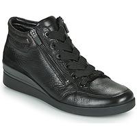 Schuhe Damen Sneaker High Ara LAZIO-ST-HS Schwarz