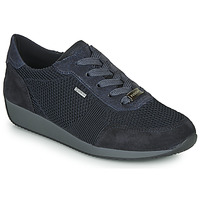 Schuhe Damen Sneaker Low Ara LISSABON-FUSI4-GOR Schwarz