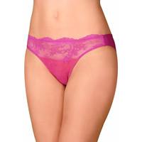 Unterwäsche Damen Damenslips Selmark Bikini Brief Violeta Granat