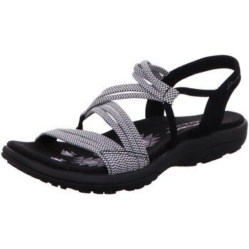 Schuhe Damen Wanderschuhe Skechers Sandaletten REGGAE SLIM - SKECH APPEAL 41180 BKW BKW schwarz