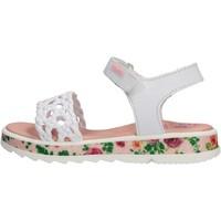 Schuhe Jungen Sandalen / Sandaletten Pablosky - Sandalo bianco 478200 BIANCO