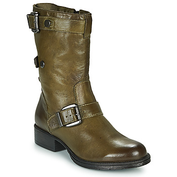 Schuhe Damen Boots Dream in Green NARAMEL Grau