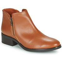 Schuhe Damen Boots Dream in Green NASTILLE Camel