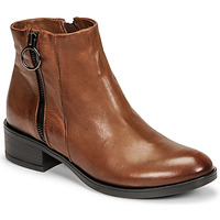 Schuhe Damen Boots Dream in Green NARLINE Camel