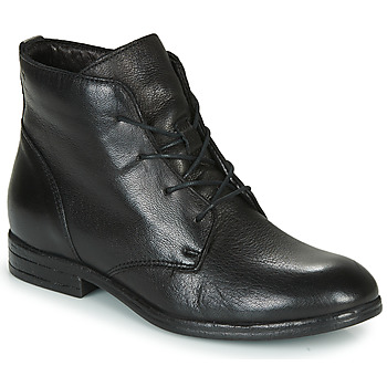 Schuhe Damen Boots Dream in Green NERGLISSE Schwarz