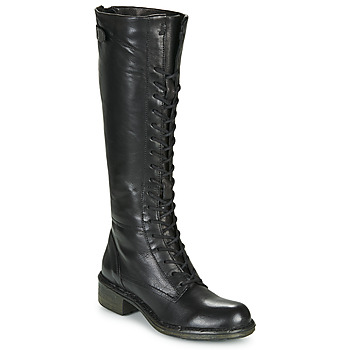 Schuhe Damen Klassische Stiefel Dream in Green NUCRE Schwarz
