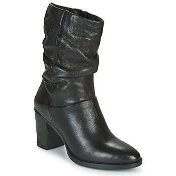 Schuhe Damen Klassische Stiefel Dream in Green NORGE Schwarz