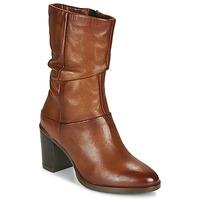 Schuhe Damen Klassische Stiefel Dream in Green NORGE Camel