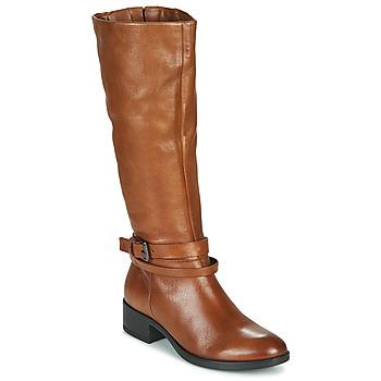 Schuhe Damen Klassische Stiefel Dream in Green NOURON Camel