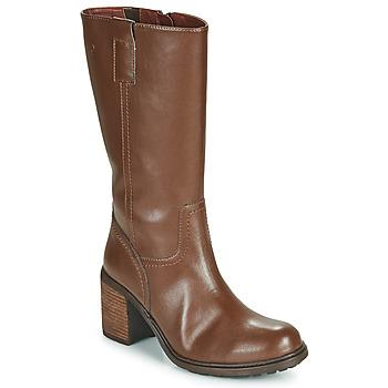 Schuhe Damen Klassische Stiefel Dream in Green NISCUIT Braun
