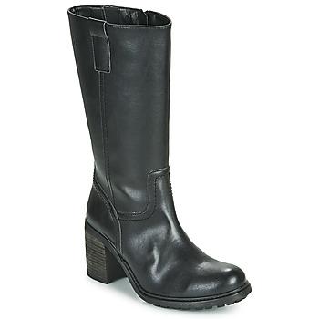 Schuhe Damen Klassische Stiefel Dream in Green NISCUIT Schwarz