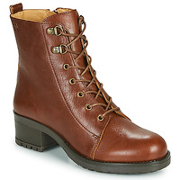 Schuhe Damen Low Boots Dream in Green NAFFY Camel