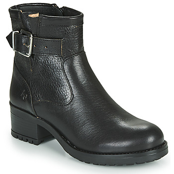Schuhe Damen Low Boots Dream in Green NETISE Schwarz
