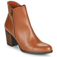 Schuhe Damen Low Boots Dream in Green NACHOU Camel