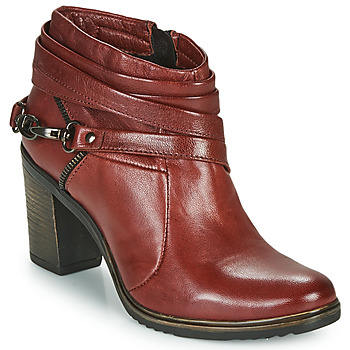 Schuhe Damen Ankle Boots Dream in Green NEGUS Bordeaux