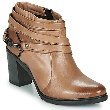 Schuhe Damen Ankle Boots Dream in Green NEGUS Braun