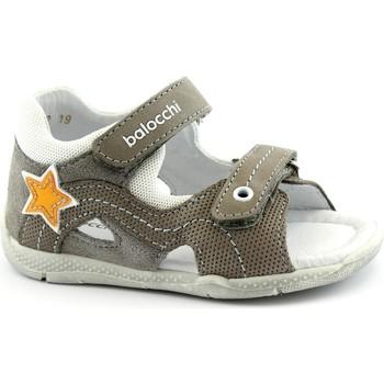 Schuhe Kinder Sandalen / Sandaletten Balocchi BAL-E20-102156-TO-b Grigio