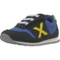 Schuhe Jungen Sneaker Low Munich BABY DASH Blau