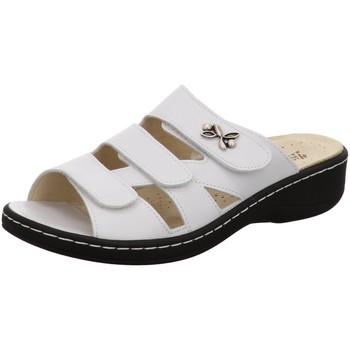 Schuhe Damen Hausschuhe Hickersberger Kräuter 5110-080 weiß