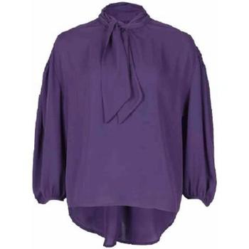 Kleidung Damen Tops / Blusen Annarita N  Violett