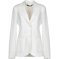 Kleidung Damen Jacken / Blazers Annarita N  Weiß