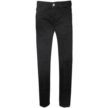 Kleidung Herren Slim Fit Jeans Entre Amis  schwarz