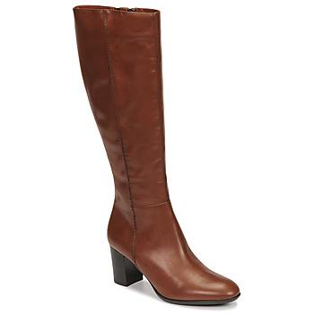 Schuhe Damen Klassische Stiefel Fericelli NAVAROIS Camel