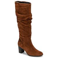 Schuhe Damen Klassische Stiefel Fericelli NEIGNET Camel